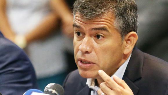 Julio Guzmán es el candidato presidencial del Partido Morado en las Elecciones 2021. (Foto: GEC)