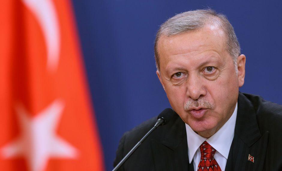 El presidente turco Recep Tayyip Erdogan. (Foto: AFP).
