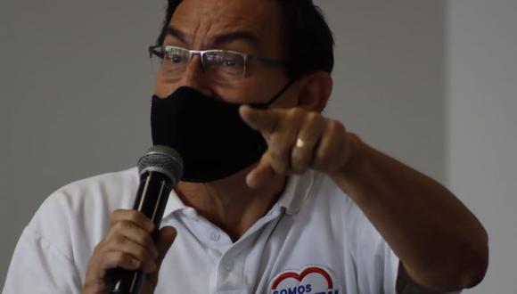 Martín Vizcarra dijo que tanto él como su esposa participaron en los ensayos de vacuna de Sinopharm. (Foto: Randy Reyes)