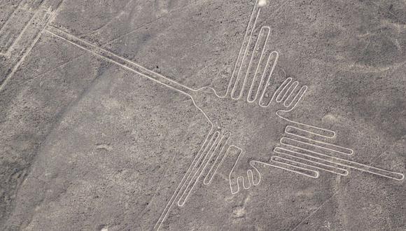 LÍNEAS Y GEOGLIFOS DE NASCA Y PALPA.  Fueron trazados entre los años 500 a.C. y 500 d.C. y cubren unos 450 kilómetros cuadrados. (Foto: Shutterstock)