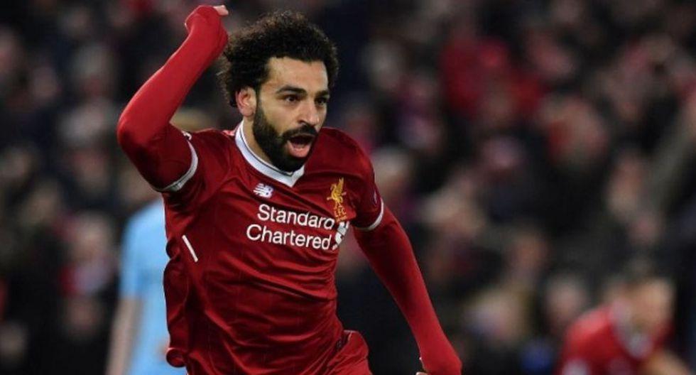 4. Mohamed Salah. (Foto: AFP)