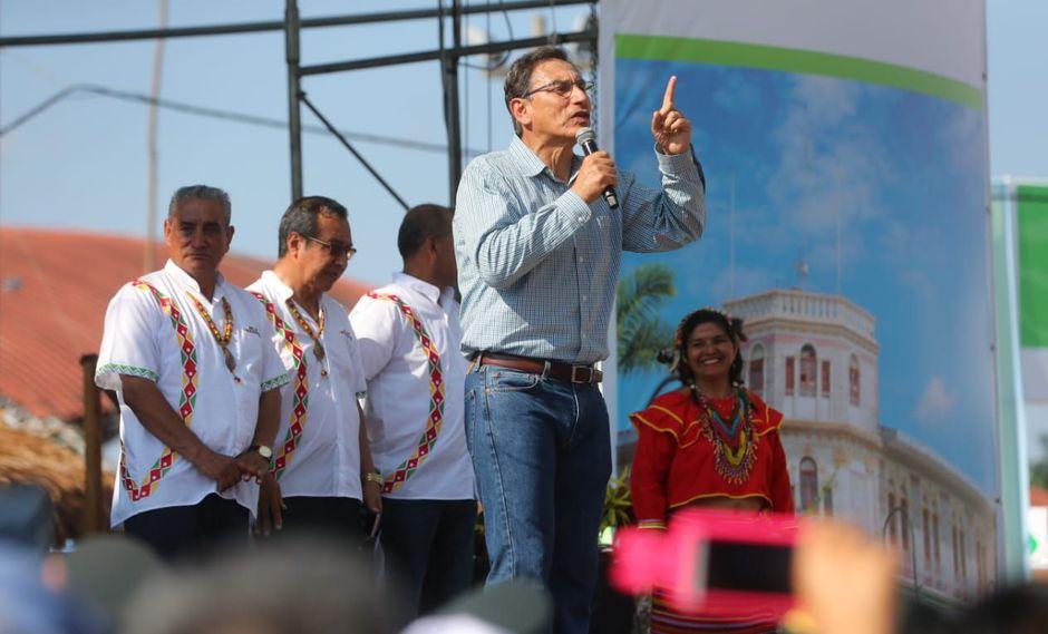 El presidente Martín Vizcarra detalló que él visitó a PPK en la clínica. (Foto: Difusión / Video: Canal N)