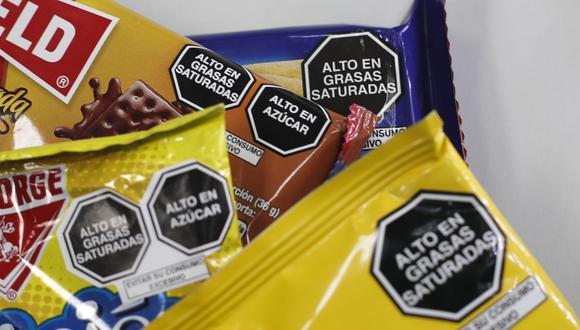 Los octógonos buscan promover la alimentación saludable. (Foto: GEC)