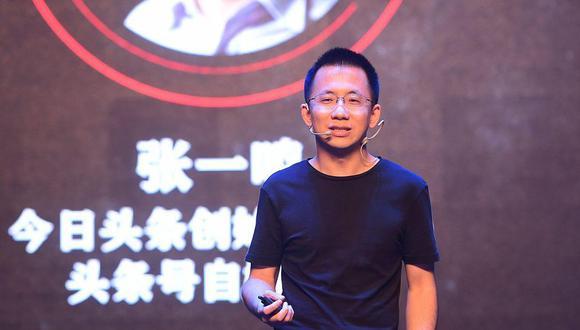 Zhang Yiming. (Foto: Jinri Toutiao)