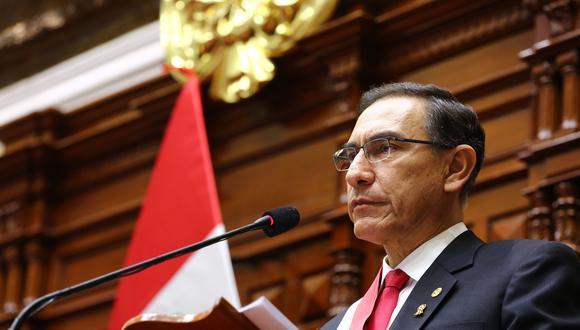 El presidente Vizcarra aún no confirma si asistirá o no a Palacio de Gobierno. (Foto: Archivo Fotográfico del Congreso de la República)