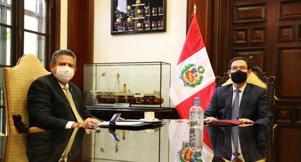 Martín Vizcarra: Entretelones de su reunión con el presidente del Congreso  en Palacio de Gobierno | FOTOS nndc | PERU | GESTIÓN