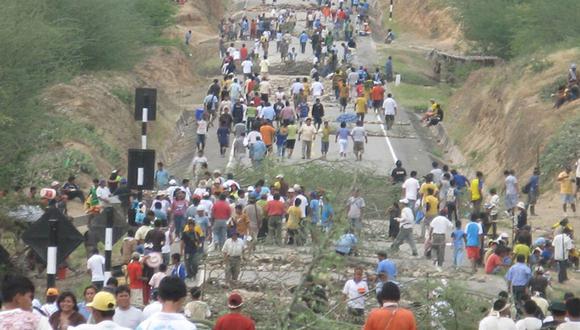 El Baguazo dejó como saldo 24 policías y diez nativos muertos el 5 de junio de 2009. (Foto: GEC)