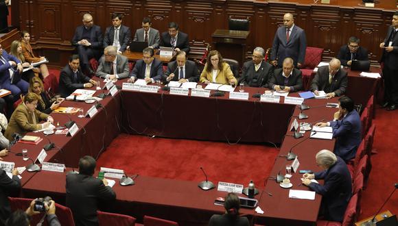 Sesión. Comisión de Constitución continuará hoy debate de reforma. (Foto: Piko Tamashiro)