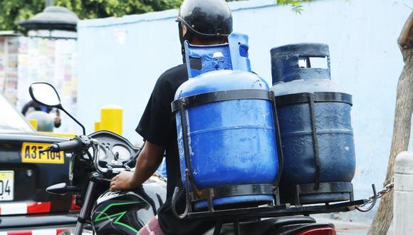 El balón de gas podría subir en promedio S/ 1. (Foto: GEC)