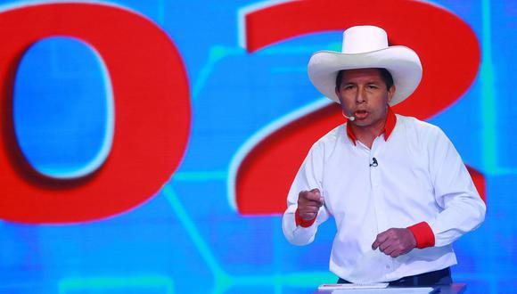 Pedro Castillo, candidato presidencial de Perú Libre. (Foto: Andina).
