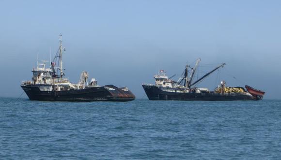 Dispositivo satelital sería implementado por los barcos de pesca extranjeros, que en un 100% de nacionalidad China. (Foto: Referencial/Oceana)