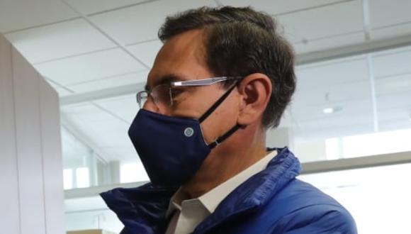 Fabio Noriega señaló que alertó al presidente Martín Vizcarra en el 2018 sobre su entorno en Palacio de Gobierno.  FOTO: Presidencia Perú