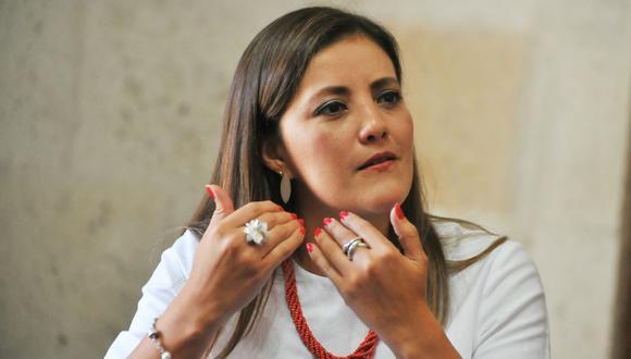 Las Gobernadora Regional de Arequipa, Yamila Osorio (foto: USI).