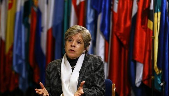 La secretaria ejecutiva de la Comisión Económica para América Latina y el Caribe (CEPAL), Alicia Bárcena. (Foto: Reuters)