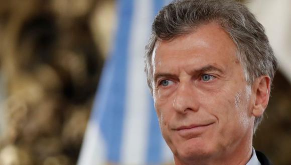 Mauricio Macri, presidente de Argentina. (Foto: EFE)