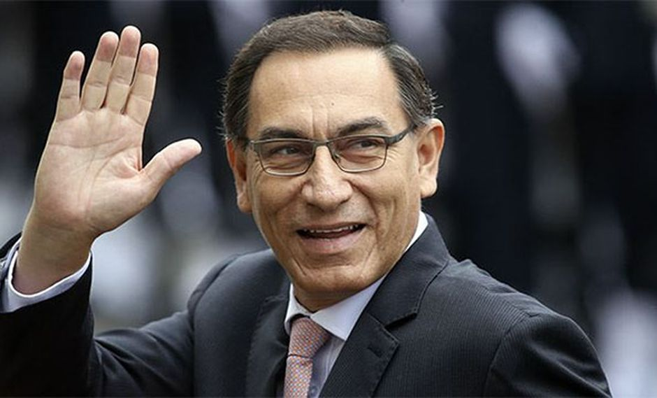 Aprobación del presidente Martín Vizcarra subió cuatro puntos, de 61% a 65%, en el último mes. (Foto: El Peruano)