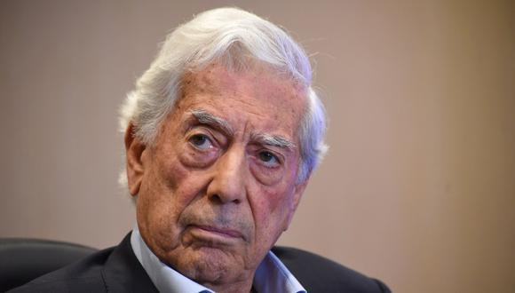 Mario Vargas Llosa. (Foto: AFP / Orlando SIERRA)