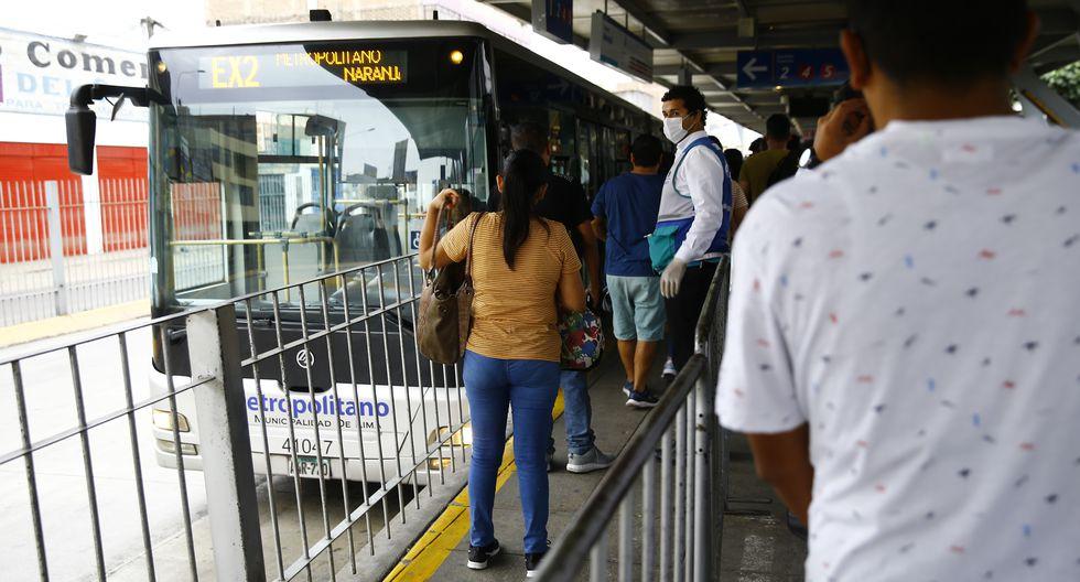 El Metropolitano continuará operando durante la cuarentena. (Foto: GEC)