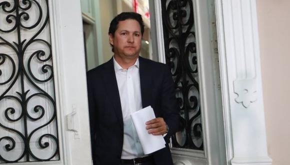 Daniel Salaverry renunciará a Fuerza Popular tras la presentación de una moción de censura en su contra. (Foto: GEC)