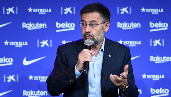 """En un comunicado el lunes, el FC Barcelona se limitó a ofrecer """"su plena colaboración a la autoridad judicial y policial para esclarecer los hechos objeto de investigación"""". (Foto: AFP)"""