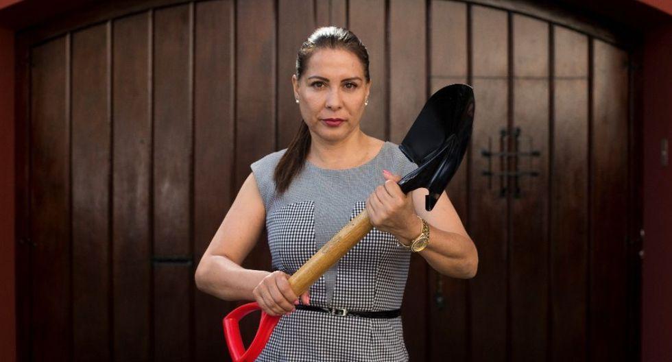 Mónica Saavedra es congresista electa por Acción Popular.  (Foto: GEC)
