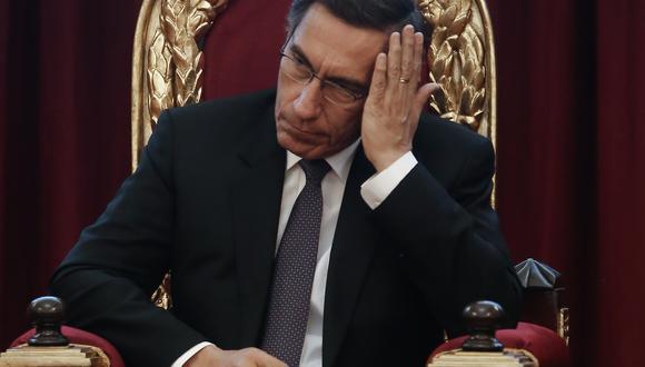 El presidente Martín Vizcarra tendrá que responder a la invitación de la Comisión de Fiscalización. (Foto: GEC)
