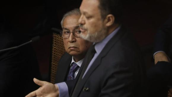 Los abogados de Pedro Chávarry también defendieron desde el ámbito penal al ex fiscal de la Nación. (Foto: Renzo Salazar / GEC)