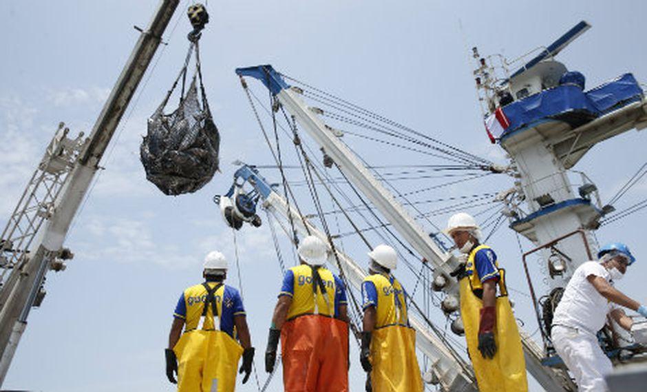El desembarque pesquero creció en los primeros siete meses de 2018. (Foto: USI)