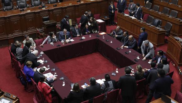 La Comisión Permanente fue convocada para sesionar este miércoles. (Foto: GEC)