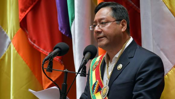 El líder socialista Luis Arce desafió las encuestas para ganar con una aplastante victoria en las elecciones del 18 de octubre, y se ha comprometido a implementar un impuesto a la riqueza a los ciudadanos más adinerados de la nación andina. (AFP).