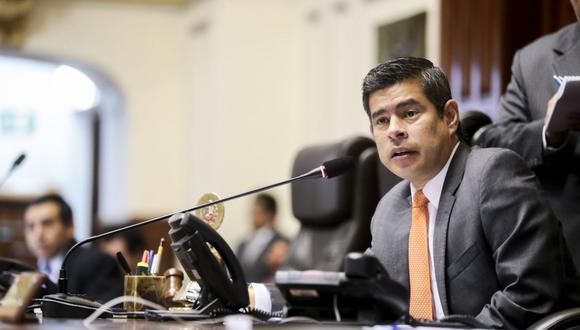Señaló que Fuerza Popular ha aportado más de 43 propuestas para mejorar el DU-003, pero el gobierno no ha aceptado todas (Foto: Andina).