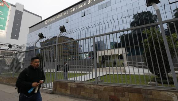 Universidad Inca Garcilaso de la Vega sin licencia institucional. (Foto: Piko Tamashiro )