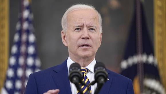 Imagen del presidente de Estados Unidos, Joe Biden. (AP/Evan Vucci).