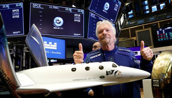 Virgin Galactic pertenece al conglomerado Virgin Group, del empresario británico Richard Branson. (Foto: Reuters)