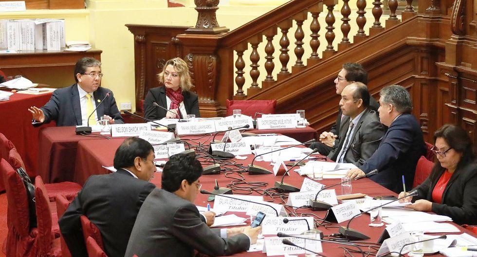 La Contraloría presentó su informe ante el Congreso. (Foto: CGR)