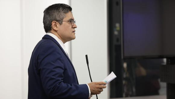 El fiscal José Domingo Pérez presentó la acusación del caso Interoceánica al Poder Judicial el pasado 11 de agosto. (Foto: Anthony Niño de Guzmán / GEC)