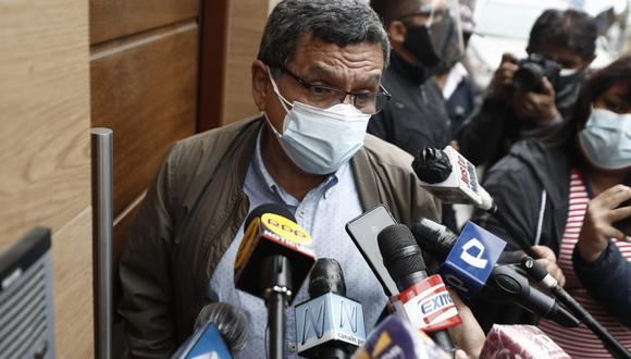 Hernando Cevallos criticó a Fuerza Popular por plantear nulidad para 802 actas. (Foto: César Campos / @photo.gec)
