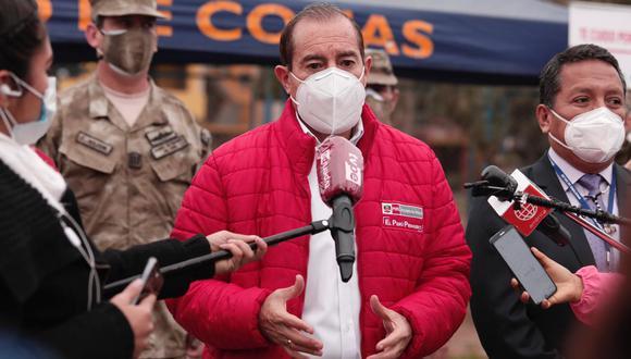 Walter Martos dijo que buscan trabajar con el Congreso para consensuar proyectos de ley. (Foto: PCM)