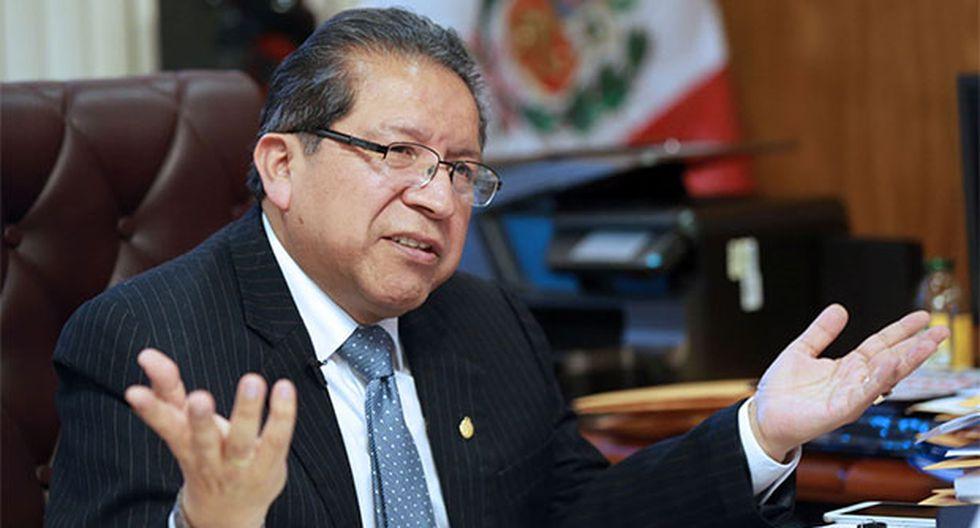 Fiscal supremo Pablo Sánchez presentará pedido de prisión preventiva. (Foto: Agencia Andina)