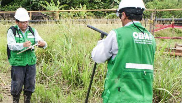 Funcionarios de OEFA (Foto referencial).