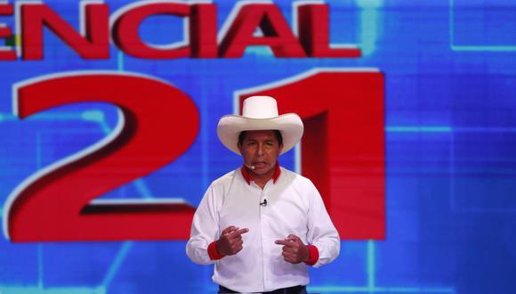 Pedro Castillo es candidato presidencial de Perú Libre, fundado por Vladimir Cerrón. (Foto: Hugo Pérez / @photo.gec)