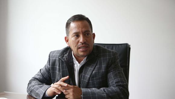 El gerente comercial de Lark, Alberto Chara, detalló los proyectos de la compañía. (Foto: Manuel Melgar)