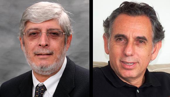 Los asesores, el expresidente del Banco Central de Reserva (BCR) del Perú Óscar Dancourt y el execonomista del Banco Mundial Pedro Francke. (Foto: Difusión)