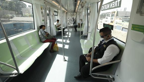 Línea 1 del Metro de Lima ha pedido confirmación si habrá modificaciones y aún no tenemos respuesta por parte del Ministerio de Transportes y Comunicaciones (MTC) (Foto GEC)