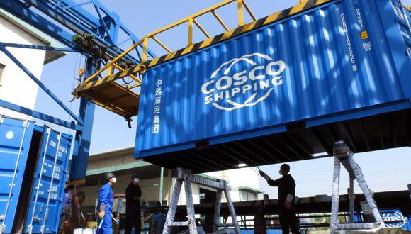 Cosco Shipping. (Foto: Reuters)