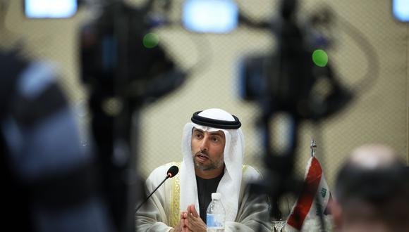 """""""No tiene sentido poner condiciones a un aumento en agosto"""", dijo Suhail al-Mazrouei. (Foto: AFP)."""