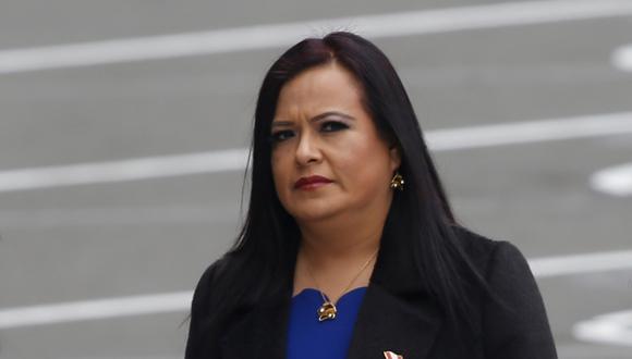 Morales rechazó las acusaciones y dijo estar dispuesta a aclarar las denuncias en su contra durante la investigación. (Foto: GEC)