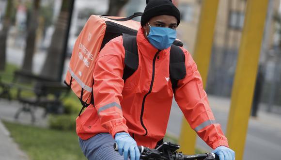 Repartidores deberán contar con SOAT, revisión técnica y demás.  También se registrarán a las bicicletas. (Foto: GEC)