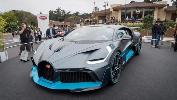 Bugatti Divo. (Foto: Bloomberg).