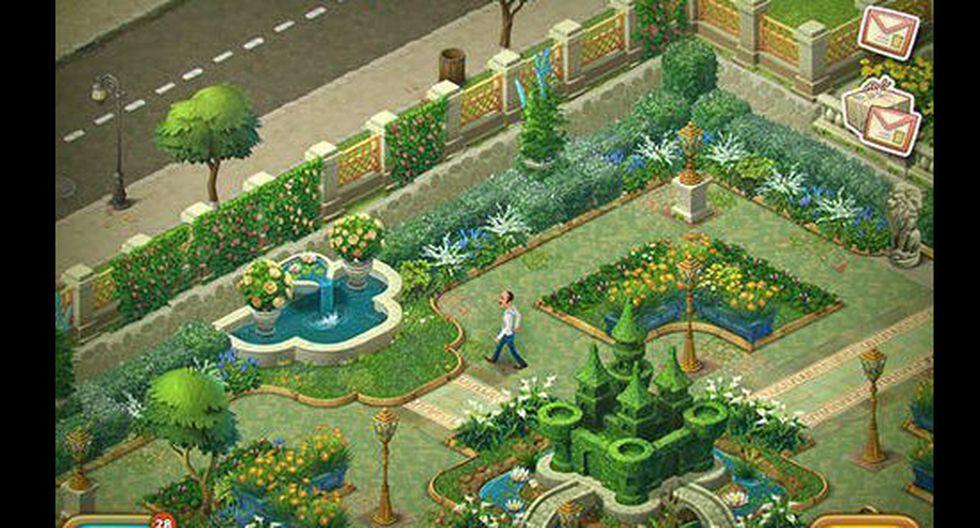 FOTO 5   Gardenscapes. A medida que vas superando diferentes niveles en los que tienes que combinar elementos, podrás restaurar y mejorar tu jardín. Está desarrollado por Playrix Games. Ingresos generados: US$ 2.504.161,90